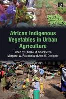 African Indigenous Vegetables in Urban Agriculture PDF