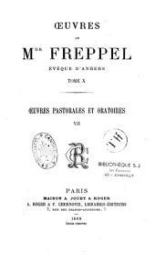 Oeuvres de Mgr Charles-Emile Freppel Evêque d'Anger