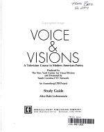 Voices and Visions a Television Course in Modern American Poetry Study Guide PDF