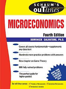 Schaum s Outline of Microeconomics  4th edition Book