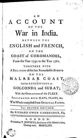 An Account of the War in India PDF