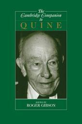 The Cambridge Companion to Quine