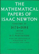 The Mathematical Papers of Isaac Newton: