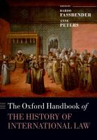 The Oxford Handbook of the History of International Law PDF
