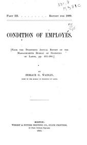 Condition of Employés