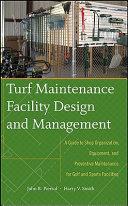 Turf Maintenance Facility Design and Management PDF