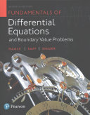 Fundamentals of Differential Equations and Boundary Value Problems Plus MyMathLab with Pearson EText    Access Card Package PDF
