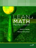 Lean Math  Figuring to Improve PDF