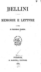 Bellini: memorie e lettere