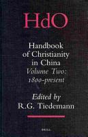 Handbook of Christianity in China PDF