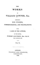 The Works of William Cowper: Letters