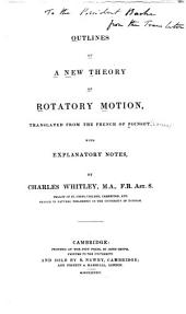 Outlines of a new theory of rotatory motion