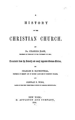 A History of the Christian Church PDF