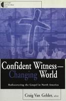 Confident Witness  changing World PDF