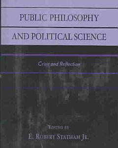 Public Philosophy and Political Science PDF