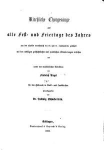 Schatz des liturgischen Chor  und Gemeindegesangs PDF
