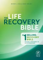 NLT Life Recovery Bible  Second Edition PDF