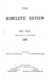 The Homiletic Review: Volume 18, Issues 1-6