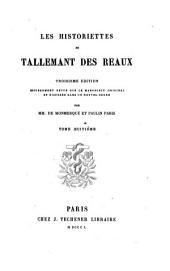 Les historiettes de Tallemant des Réaux: Volume7