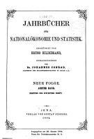 Jahrb  cher f  r National  konomie und Statistik PDF