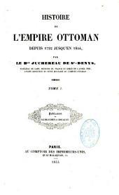 Histoire de l'Empire ottoman depuis 1792 jusqu'en 1844