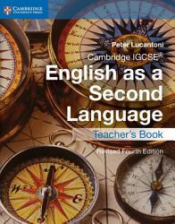 Cambridge Igcse English As A Second Language Teacher S Book Book PDF