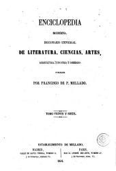 Enciclopedia moderna, 27: diccionario universal de literatura, ciencias, artes, agricultura, industria y comercio