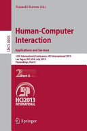 Human-Computer Interaction: Applications and Services