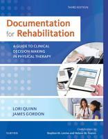 Documentation for Rehabilitation PDF