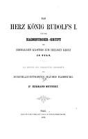 Das Herz K  nig Rudolf s I  und die Habsburger Gruft des ehemaligen Klosters zum heiligen Kreuz in Tuln PDF