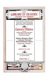 The Library of Oratory, Ancient and Modern: Volume 1