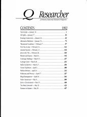 The CQ Researcher Bound Volume 1992 PDF