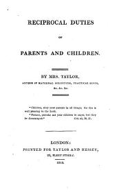 Reciprocal duties of parents and children