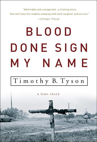 Download Blood Done Sign My Name Book