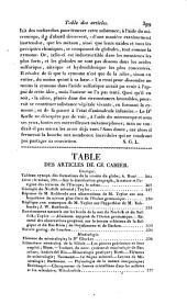 Bulletin des sciences naturelles et de géologie: Volume14
