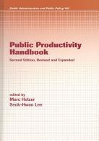 Public Productivity Handbook  Second Edition  PDF