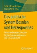 Das politische System Bosniens und Herzegowinas PDF
