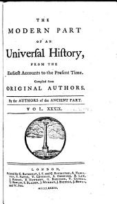 An Universal History, from the Earliest Accounts to the Present Time: Volume 57