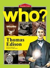 세계 위인전 Who? 8권 Thomas Edison