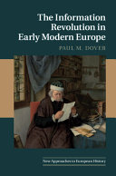 The Information Revolution in Early Modern Europe