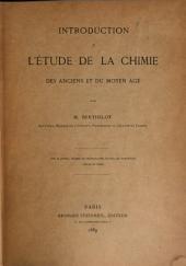 Introduction à l'étude de la chimie, des anciens et du moyen âge