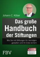 Das gro  e Handbuch der Stiftungen PDF