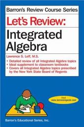 Let's Review: Integrated Algebra