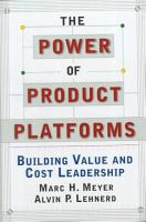 The Power of Product Platforms PDF