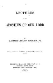Lectures on the apostles of our Lord