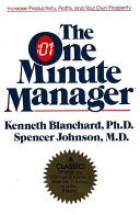 The One Minute Manager Anniversary Ed Book PDF