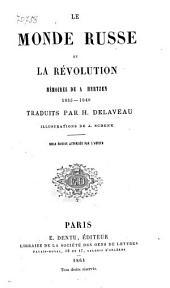 Le monde russe et la révolution: 1812-1835