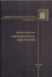 Sixteen papers on differential equations