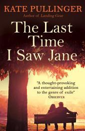 The Last Time I Saw Jane
