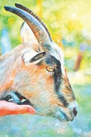 Notes  Portrait of a Goat Farmer Hand That Stroked the Goat   Blank College Ruled Lined Notebook